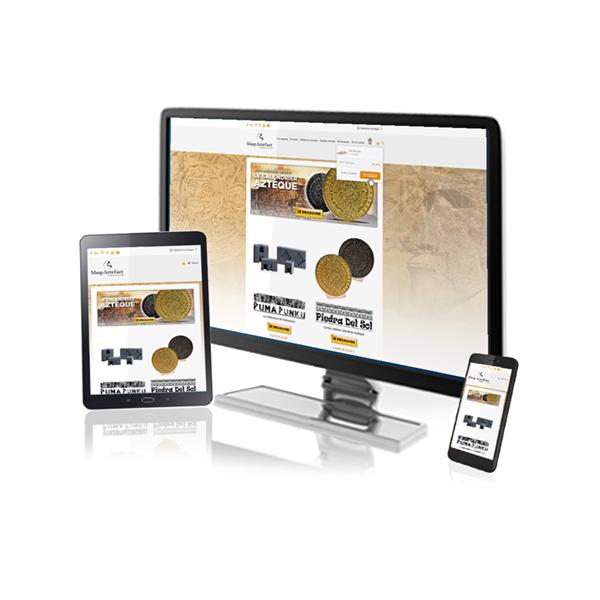 Création site Web Design Responsive ShopArtefact