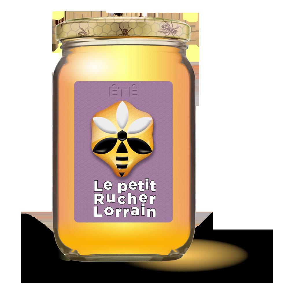Pot de miel d'été - Le petit rucher Lorrain